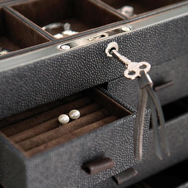 W0126 faux stingray jewelry box 1-1