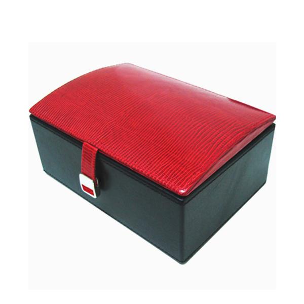 W0135-Red-lizard-skin-jewelry-box-2