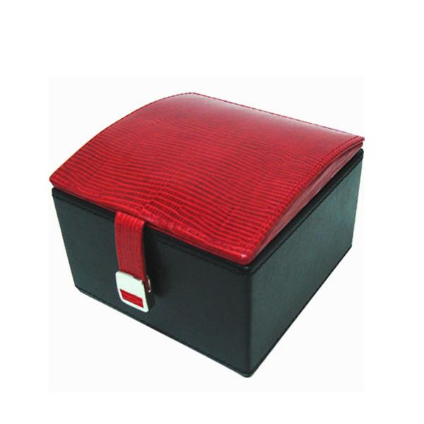 W0136-Red-lizard-skin-jewelry-box-2