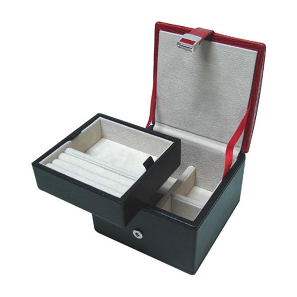 W0136-Red-lizard-skin-jewelry-box